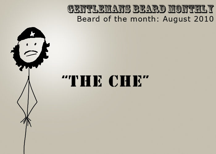 Beard of the Month - August 2010