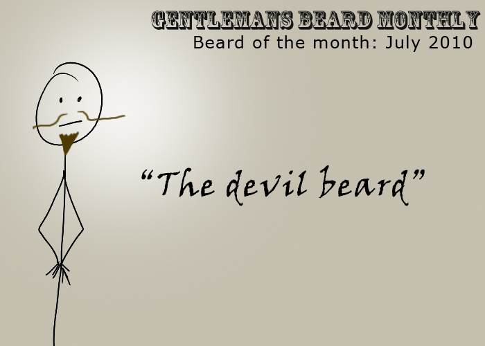 Beard of the month: July