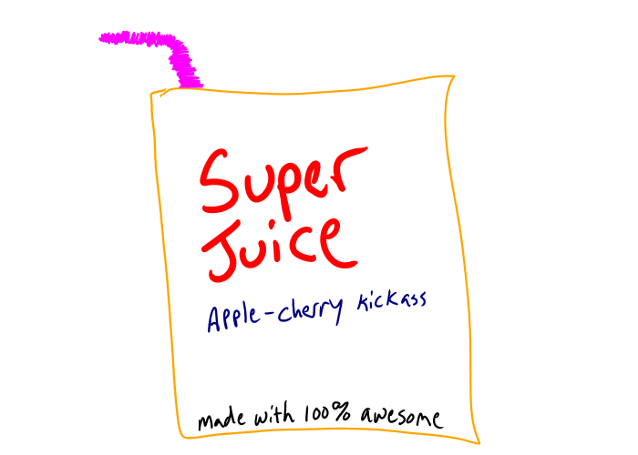 juice boxes are the shit